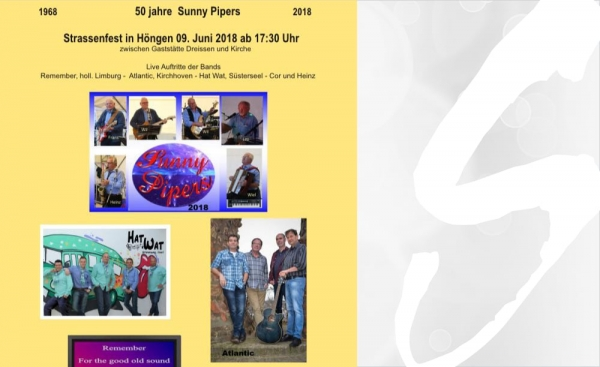 "9. Juni - 50 Jahre ""Sunny Pipers"""