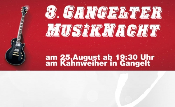 Open-Air-Konzert mit 5 Live-Bands