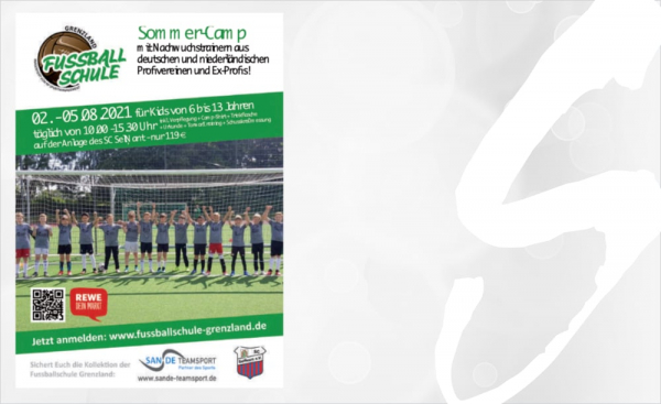 Fussball-Feriencamp